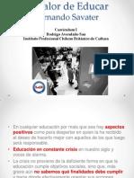 Fernando Savater - Valor de Educar