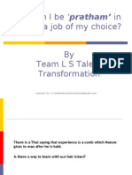 How to Get Dream Job