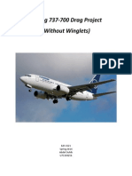 Boeing 737-700 Drag