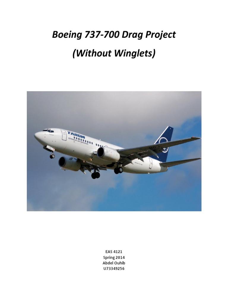 boeing 737 700 drag drag physics reynolds number rh es scribd com Chilton Manuals 12H802 Manual