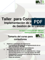 Taller de Consultores en ATR