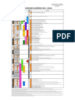 Calendario Academico 2014 Anual