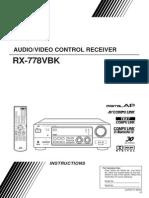 JVC RX-998V Receiver