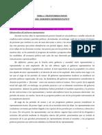 5. Transformaciones Del Gobierno Representativo
