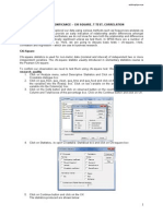 Getting to Know Spss - Cont