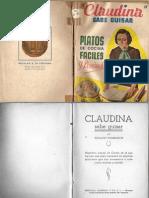 13075841 Libro Recetas de Cocina Claudina Sabe Guisar Ignacio Domenech 1940