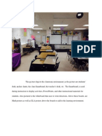 APS 8- Maintaing an Environment That Promotes Learning