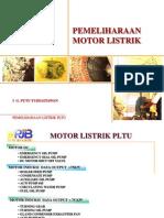 Pemeliharaan Motor PLTU