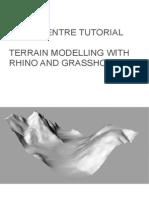 Terrain Model With Rhino and Grasshopper