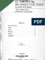 Bill Evans Piano Themes by Bach, Chopin