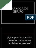 2.2. DINAMICA DE GRUPOS
