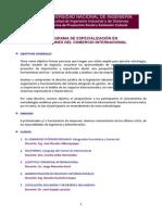 Programa Operaciones Del Comercio Internacional