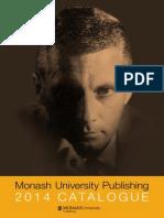 Monash University Publishing 2014 Catalogue