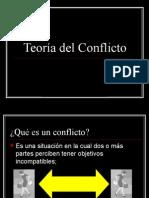 2.3. TEORÍA DEL CONFLICTO