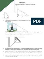 EXERCÍCIOS_trigonometria_2ano