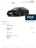 Audi RS7 Configured
