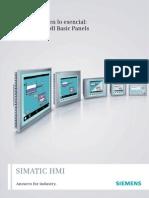 HMI Siemens Catalogo