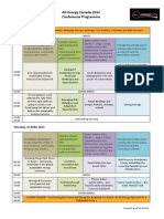 All-Energy Canada Conference Programme. 20.03.14 (1)