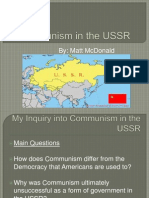 communism in the ussr