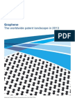 Graphene - The World-Wide Patent Landscape (UK Intellectual Property Office, March 2013)