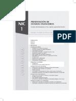 Nic 1 - Presentacion de Estados Financieros
