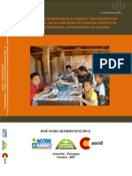Consumo y hábitos alimentarios de familias participantes del proyecto Soberanía Alimentaria, en la comunidad de Durazno (Tesis de Grado)