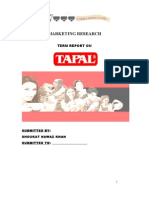 Report on Tapal by Ali