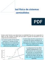 Estabilidad Física de Sistemas Semisólidos