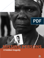 Missing Persons - A hidden tragedy