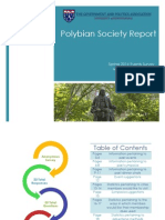 polybian society spring events report
