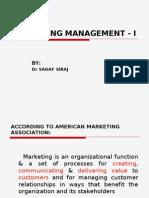 Marketing Management 4 August
