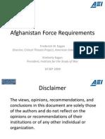 Afghanistan Plan - Kagan