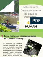 Apresentação Human Outdoor