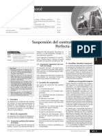 Causas de Suspencion Del Contrato
