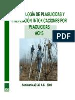 Toxicologia y Prevencion de Intoxicaciones Por Plaguicidas