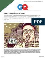Kim Jong-il's Sushi Chef Kenji Fujimoto