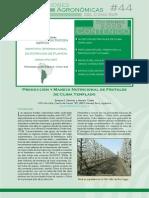 Produccion Manejo Nutricional Frutales Clima Templado