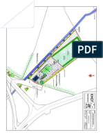 Proposed Site Layout Scale 1-500