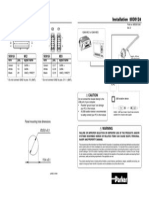 Panel-cable 5030124 EdD Installationsheet