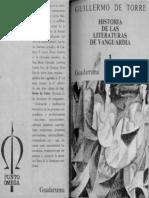De Torre Guillermo Historia de Las Literaturas de Vanguardia 1 Futurismo