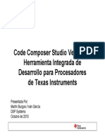 Code Composer Studio-4x 01-10-2010