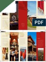 Bagan Lodge's New Brochure updated in April 2014