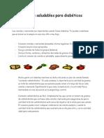 diabetes handout in spanish