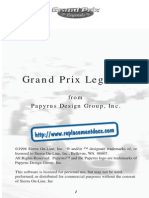 Grand Prix Legends - Manual - PC