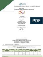 Plan de Evaluación Por Competencias Grupo e