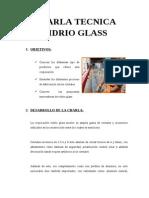 Charla Tecnica Vidrio Glass