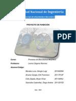 Proyecto  de Fundición