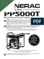 GENERAC 5000 Watt Generator