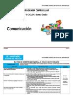 V Ciclo Comunicacion Lengua Materna Dre Cusco