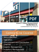 Wal-Mart SCM [PG-2 Group D]